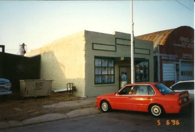 Texhoma's first field office in the Anadarko Basin in Oklahoma circa 1996